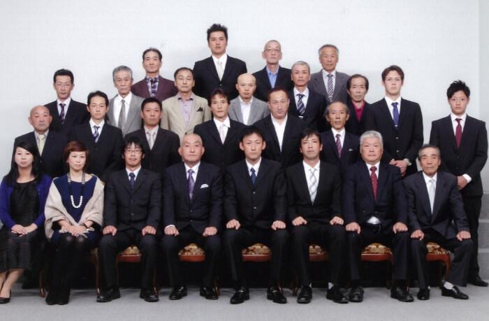 社長就任写真(2014年)の写真