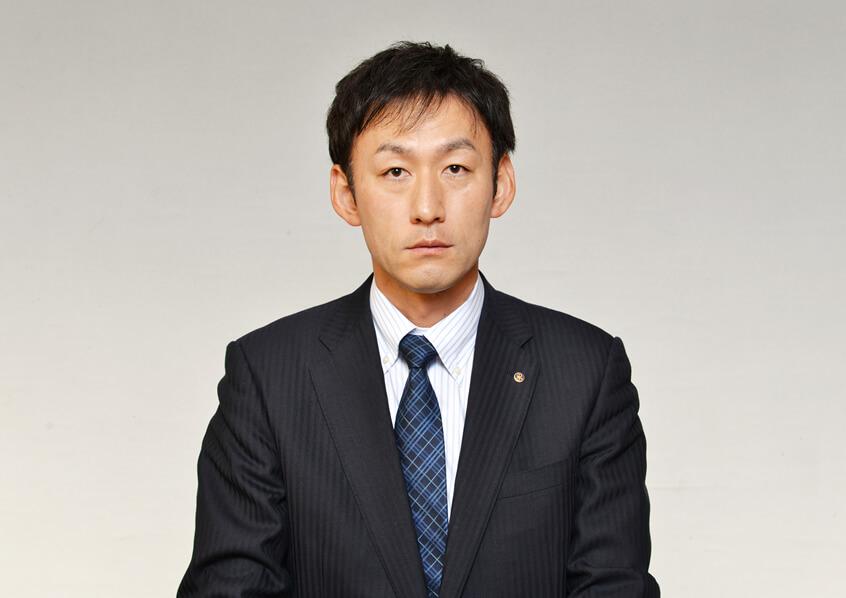 代表取締役佐治繁典の写真