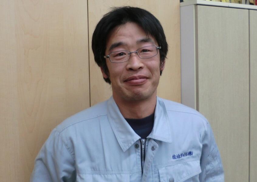 工事部 課長の写真